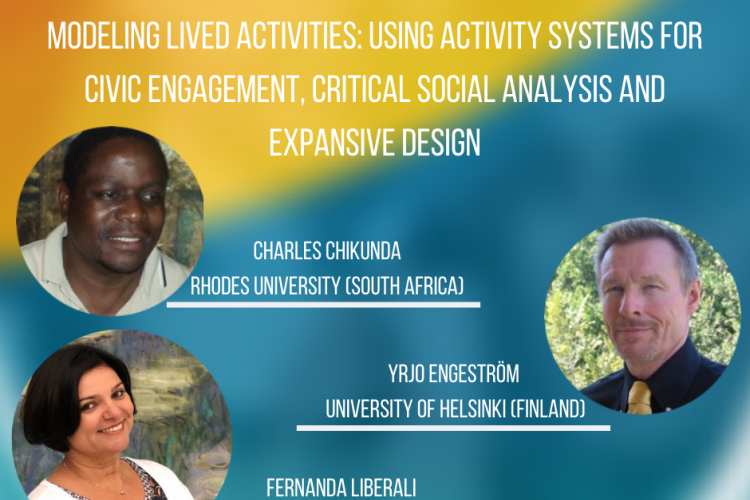 Modeling lived activities: using activity systems for civic engagement, critical social analysis and expansive design